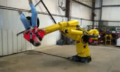 RoboticArmRide Robotic Arm Ride