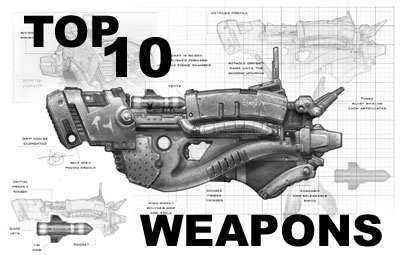 TOP 10 Future Weapons