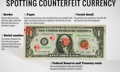 How To Clean Counterfeit Money