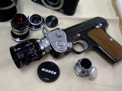 pistol camera The Pistol Camera