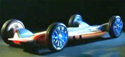 skateboard car
