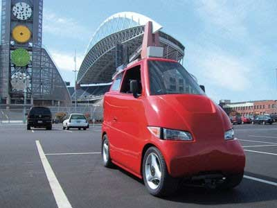 Tango Car One Seater Half Of A Smart