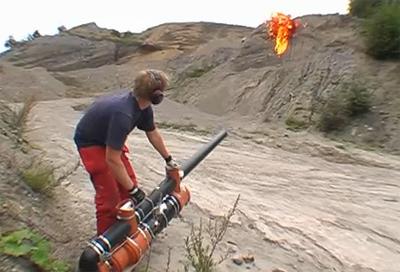 fireball launcher