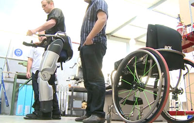 robotic legs for the disabled