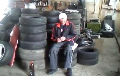 man airbag