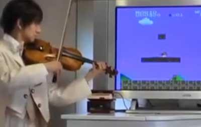 violin mario