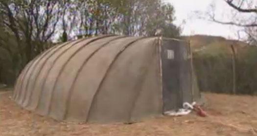 Portable Fire Resistant Concrete Shelter