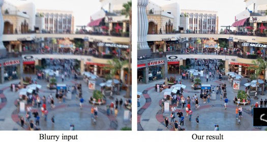 Photoshop's New De-Blur Photo Technology
