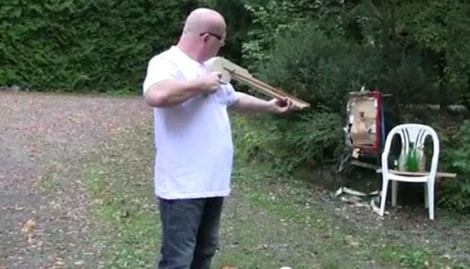 Pump Action Rubber Shotgun Shooting 20mm Steel Balls