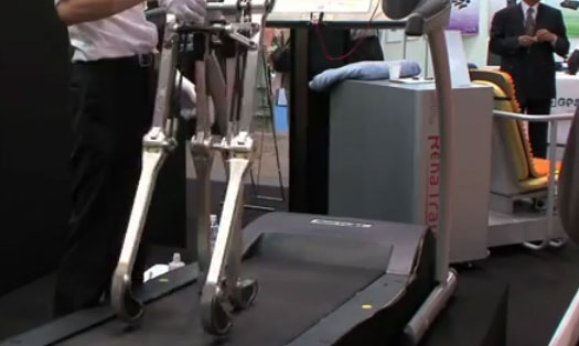 Robotic Legs Walk Without Power