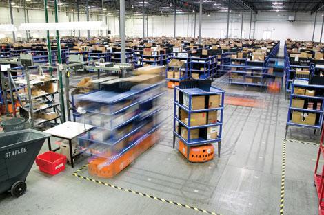 Useful Warehouse Robots