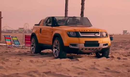 Land Rover Concept Cars - DC100