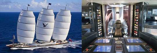 $130 Million Super Yacht - Maltese Falcon