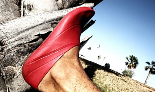 Biodegradable Shoes Fit Like Condoms To Your Feet