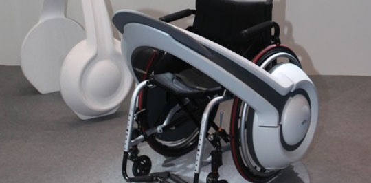 WHILL - Turns Any Wheelchair Into An Electric Vehicle
