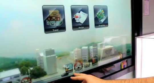 Transparent Smart Window