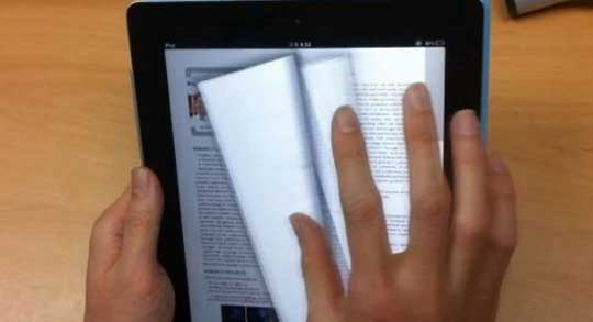 New Paper-Like Page Flipping System For E-Books