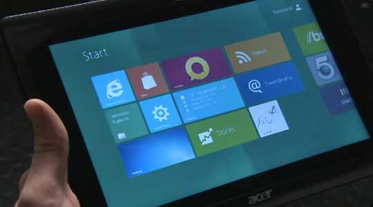 Control Windows 8 With Your Eyes