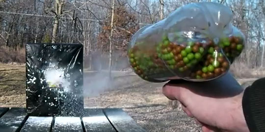 How to Make an Airsoft Machine Gun from a Soda Bottle