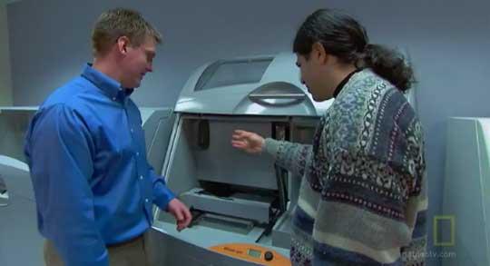 3D Printer - First Step Towards StarTrek Replicator?
