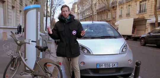 Electric Car Sharing and Bike Sharing in Paris