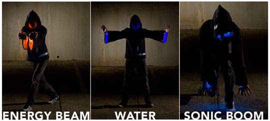 LED Wizard's Hoodie - Will Make Harry Potter Doodoo