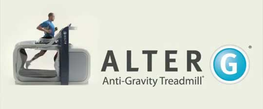 Anti-Gravity Treadmill - Alter G - Rehab Equipment