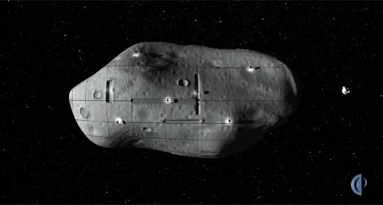 Asteroid Mining Mission Revealed by Planetary Resources, Inc.
