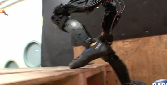 DARPA's Robot Learned To Climb Stairs