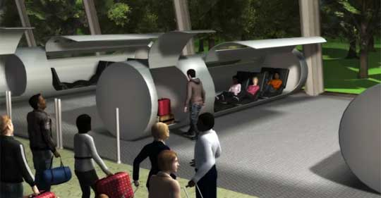 Evacuated Tube Transport - Around the World in 6 Hours