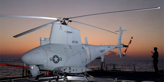Unmanned Helicopter - Drone