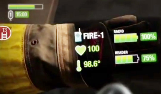 "Future of Firefighting - Mask Gives Firefighters ""Bionic"" Vision"