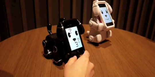 Transforming the iPhone into a Robotic Dog
