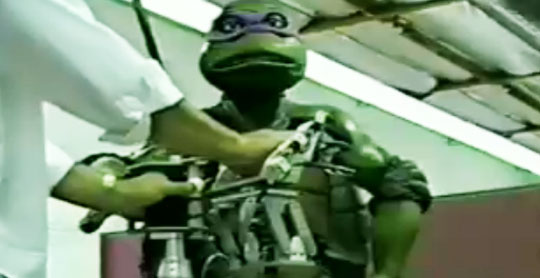 Impressive Ninja Turtle Puppet from 1992