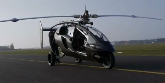 palv personal flying car Personal Flying Car Concept   PAL V