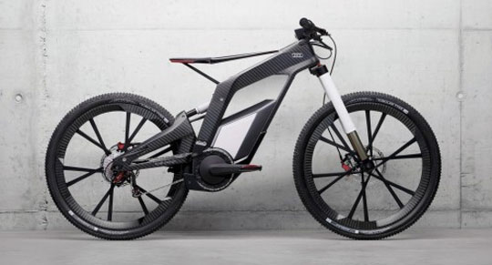 Audi's Electric Bicycle Concept