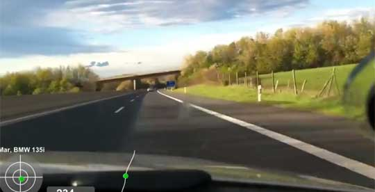 High Speed Chase on the Autobahn