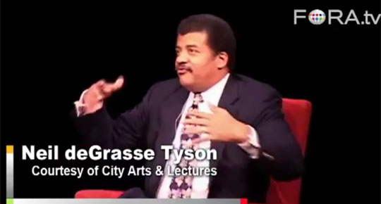 Neil DeGrasse Tyson - Earth Is Bad for Life ?
