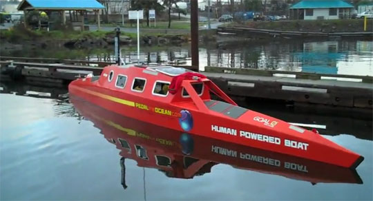 Pedal-Powered Sea Kayak - Video Tour