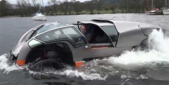 Impressive Amphibious All-Terrain Vehicle