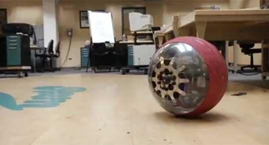 Incredible Gryoscope Powered Spherical Robot