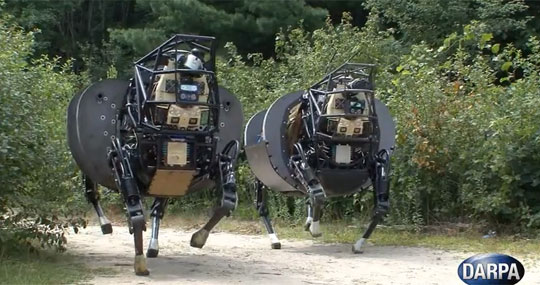 DARPA's Creepy Squad Support System
