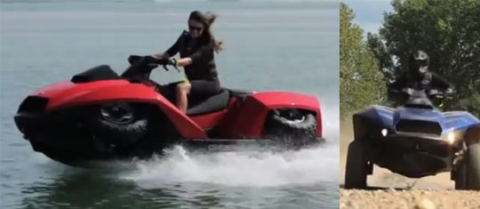 Quadski - 45 MPH on Land and Water