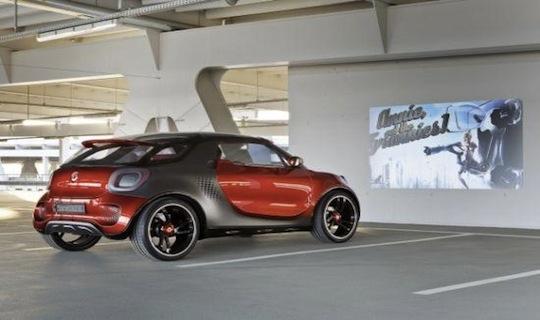 Smart ForStar Concept Car