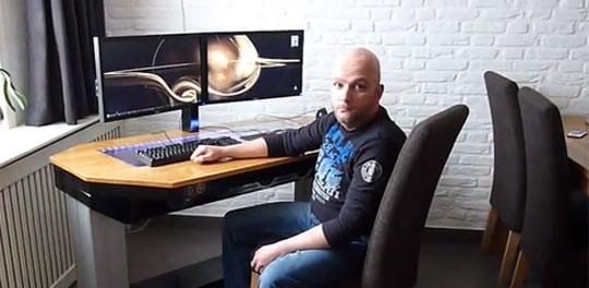 Impressive Desk + PC Combo - Elevating Desktop