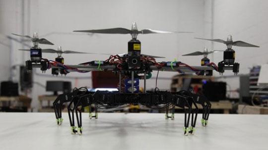 Hexacopter + Hexapod