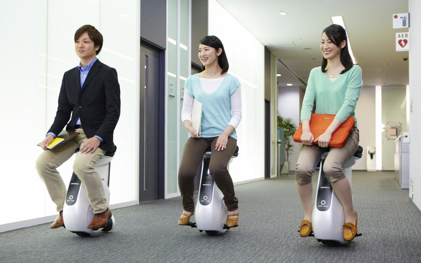 Honda UNI-CUB, personal mobility, personal transporter