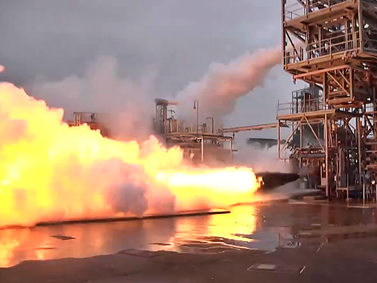 F-1 engine, NASA, test,