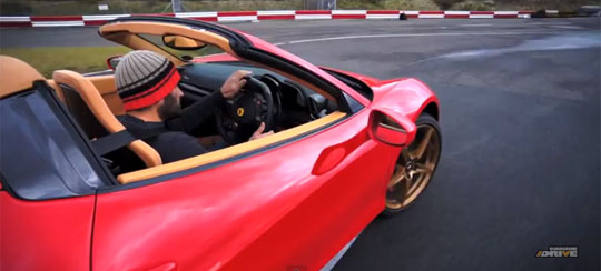 Driving a Ferrari 458 Spider Like it is Supposed to be Driven
