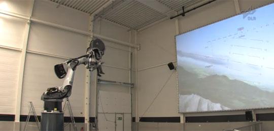 robotic arm simulator Flight or Driving Simulator Build Using Industrial Robotic Arm